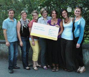 Spendenübergabe Juseso - Abraçar Mozambique